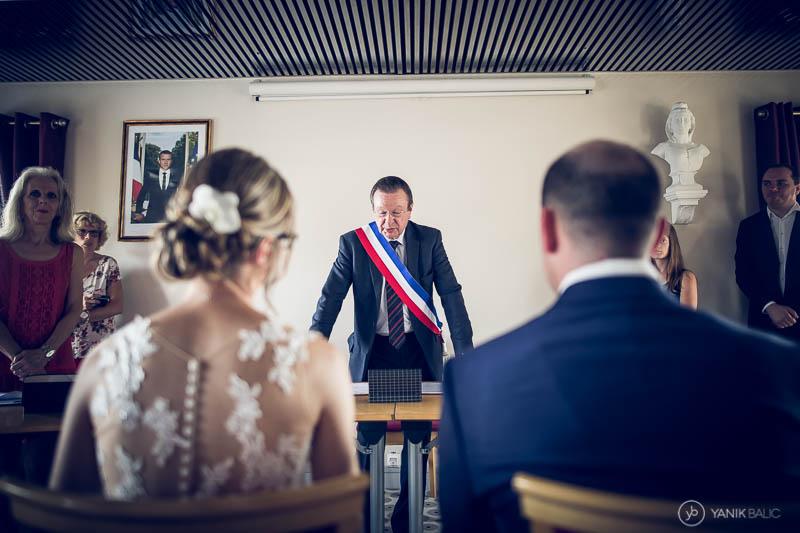 reportage photo de mariage, cérémonie civile