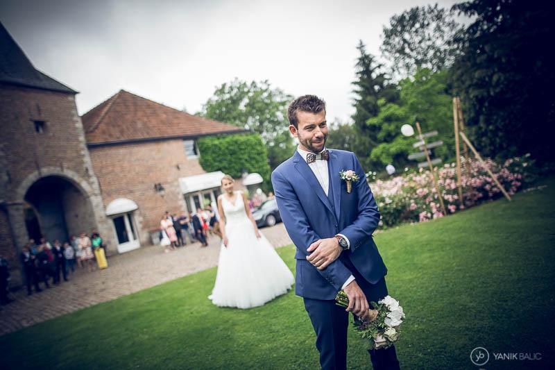 Reportage photo de mariage, rencontre des mariées