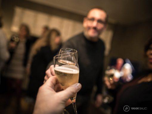 Reportage photo à domicile pour l'anniversaire de Francine