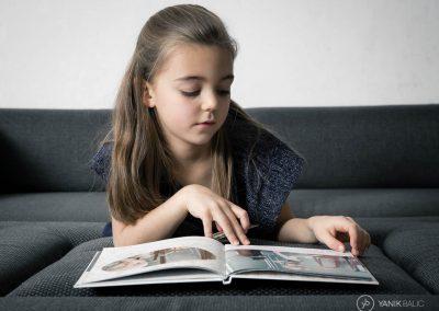 Séance photo d'enfant à domicile