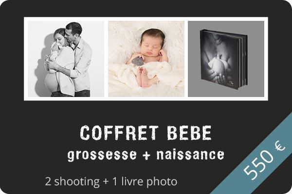 Coffret shooting grossesse + naissance