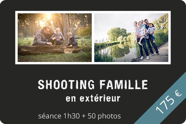 Shooting famille en extérieur