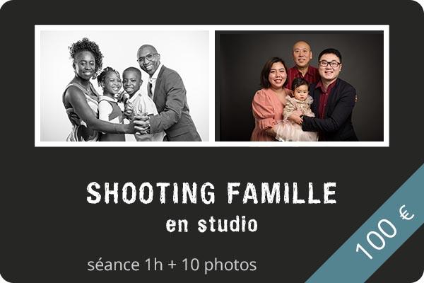Shooting famille en studio