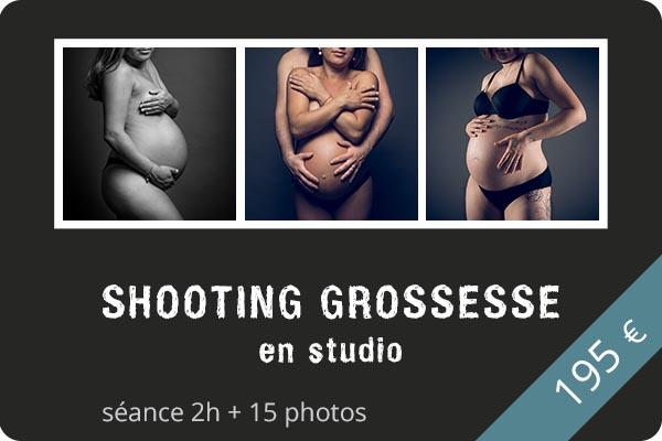 Shooting grossesse en studio