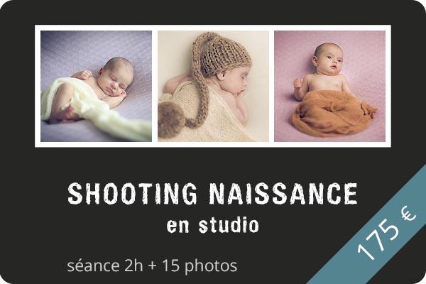 Shooting naissance en studio