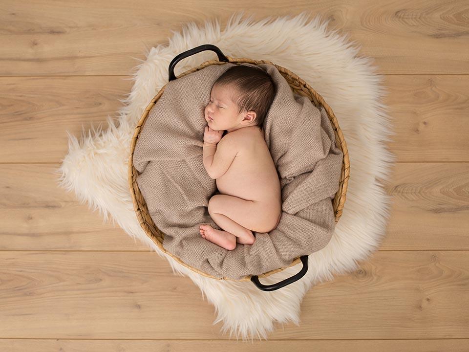 Photo de nouveau né