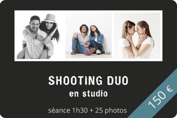 Shooting duo en studio